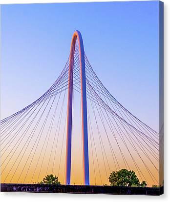 Margaret Hunt Hill Bridge Canvas Print by Art Spectrum