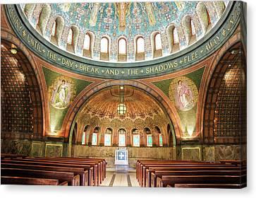 Memorial Chapel Canvas Print