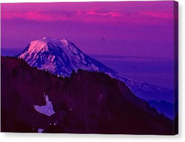 Mt. Rainier Sunrise Canvas Print