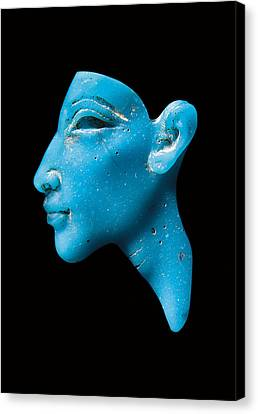 Nefertiti Canvas Print by Egyptian School
