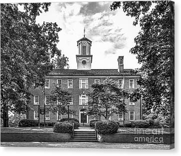 Ohio University Cutler Hall Canvas Print by University Icons