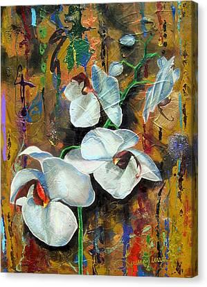 Orchid Yo Canvas Print by Laura Pierre-Louis