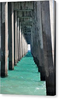 Pensacola Beach Pier Canvas Print