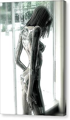 Prior Evolution Of Eve Figure 4  Canvas Print by Greg Coffelt