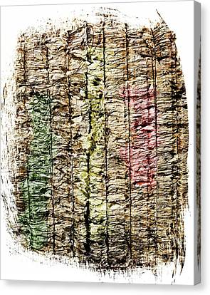 Recycled Paper Canvas Print by Bernard Jaubert
