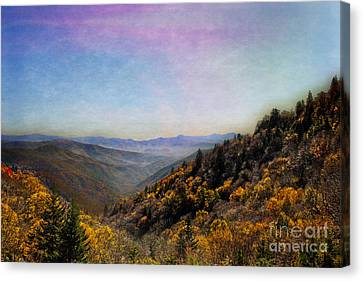 Gatlinburg Tennessee Canvas Print -  Renowned Beauty by Tom Gari Gallery-Three-Photography