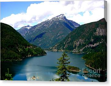 Ross Lake In The North Cascades Canvas Print