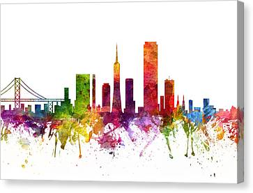San Francisco Cityscape 06 Canvas Print
