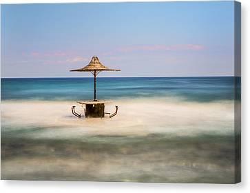Seaside Bar Canvas Print