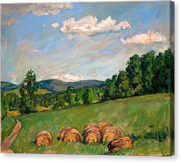 Summer Idyll Berkshires Canvas Print by Thor Wickstrom