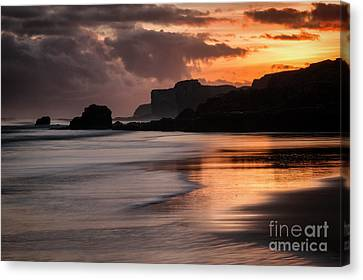 Sunrise At Sandhaven Canvas Print by Ray Pritchard