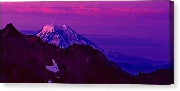Sunrise Panorama Canvas Print