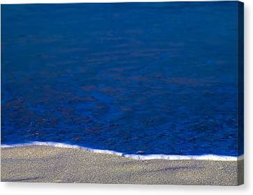 Surfline Canvas Print by Gary Dean Mercer Clark