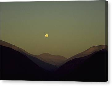 The Andes Mood Canvas Print by Michael Mogensen