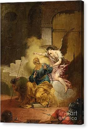 The Liberation Of Saint Peter Canvas Print