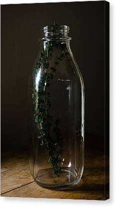 Time In A Bottle   861 Canvas Print