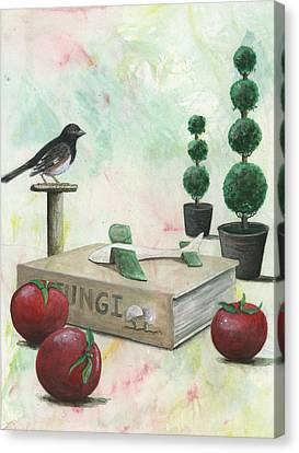 To   Words Canvas Print by Sandy Clift