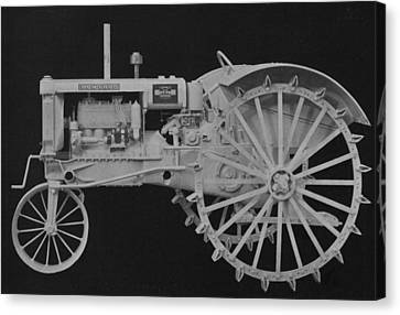 Machinery Canvas Print -  Tractor by American School