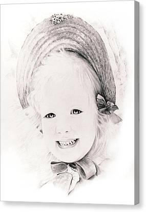 Trudy Canvas Print by Rachel Christine Nowicki