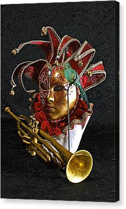 Venitian Joker Canvas Print