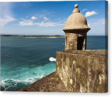 View From El Morro Fort Canvas Print by George Oze