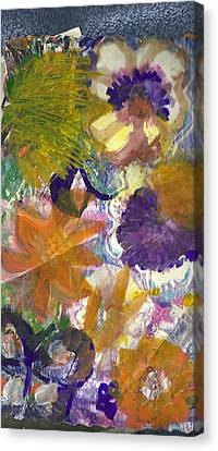 Whimsical Floral Canvas Print by Anne-Elizabeth Whiteway
