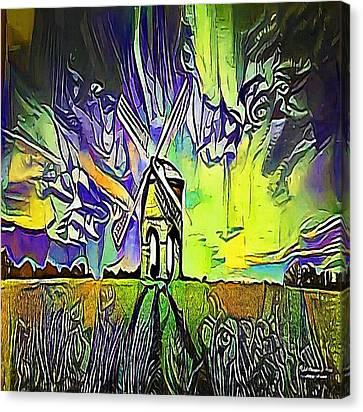 Windmill - My Www Vikinek-art.com Canvas Print