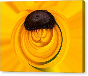 Yellow Canvas Print by Jouko Lehto