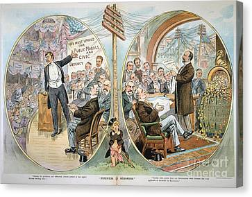 Reform Canvas Print - Business Cartoon, 1904 by Granger