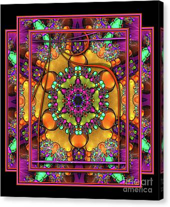 001 - Mandala Canvas Print by Mimulux patricia no No
