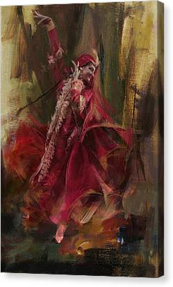 Punjab Canvas Print - 001 Pakhtun by Maryam Mughal