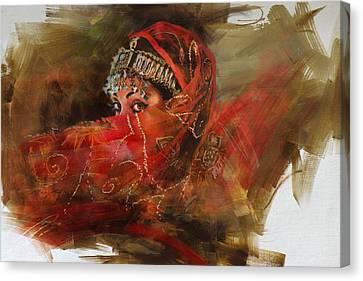 002 Pakhtun B Canvas Print by Mahnoor Shah