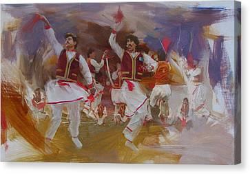 004 Pakhtun Canvas Print by Maryam Mughal