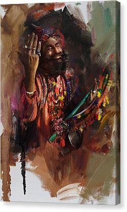 004 Sindh Canvas Print by Mahnoor Shah