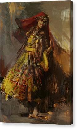 008 Pakhtun B Canvas Print by Mahnoor Shah