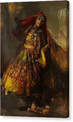008 Pakhtun Canvas Print by Mahnoor Shah