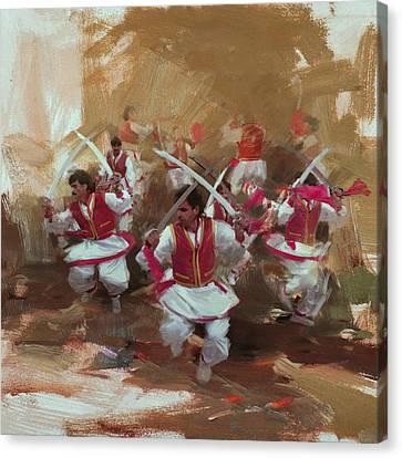 006 Pakhtun Canvas Print by Maryam Mughal