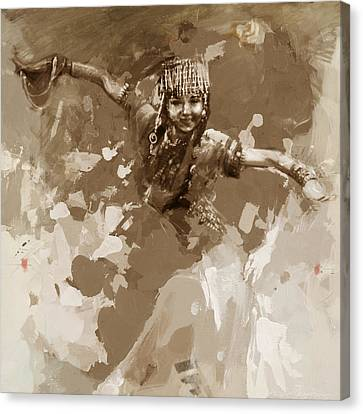 007 Kazakhstan Culture Canvas Print by Mahnoor Shah