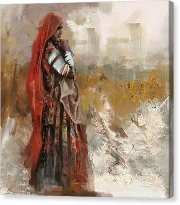 007 Sindh Canvas Print by Mahnoor Shah