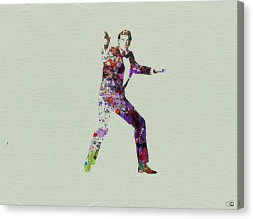 007 Watercolor Canvas Print