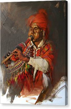 022 Sindh Canvas Print by Mahnoor Shah
