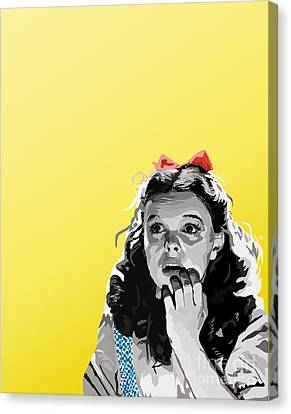 010. Follow Canvas Print by Tam Hazlewood