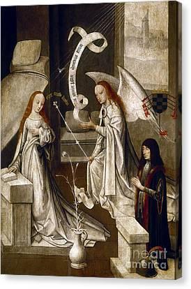 Spain: Annunciation, C1500 Canvas Print by Granger