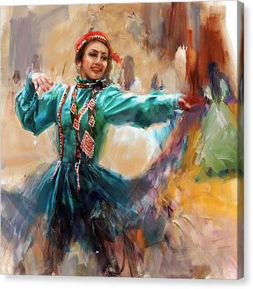 011 Pakhtun B Canvas Print by Mahnoor Shah