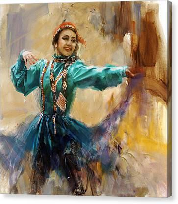 011 Pakhtun Canvas Print by Mahnoor Shah