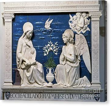 Della Robbia: Annunciation Canvas Print by Granger