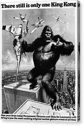 King Kong, 1976 Canvas Print by Granger