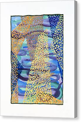 01331 Rise Canvas Print by AnneKarin Glass