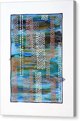 01332 Straight Canvas Print by AnneKarin Glass