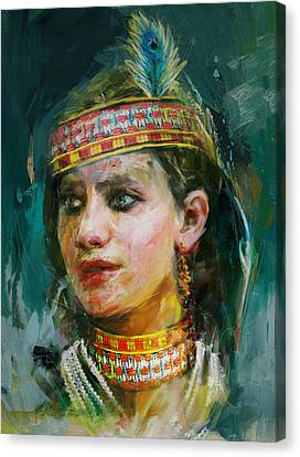 015 Kazakhstan Culture Canvas Print by Maryam Mughal